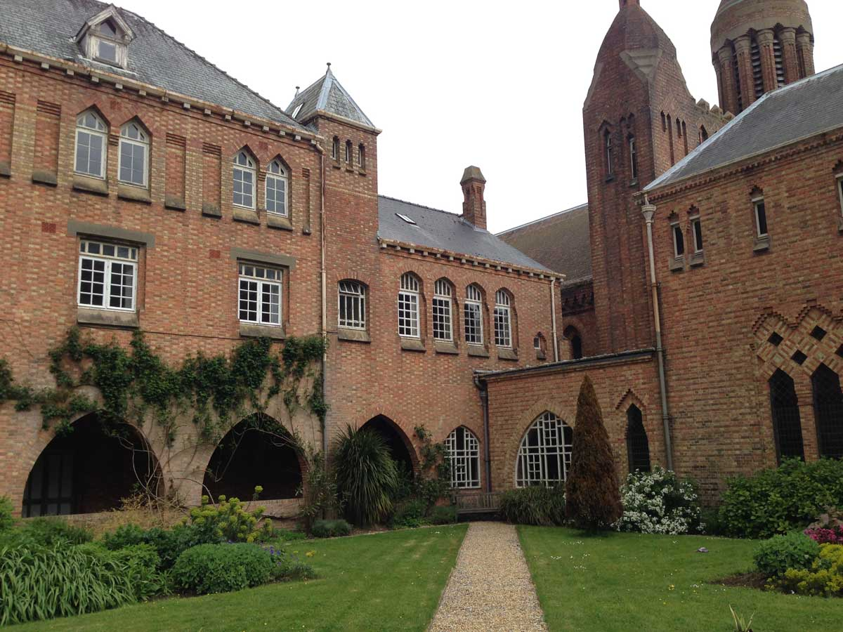 Bellot Building Quarr Abbey Isle Of Wight Hoare Ridge